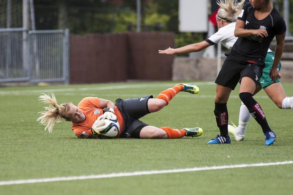 Kristin Hammarström är tillbaka i KGFC. Foto: PER MONTINI