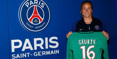 Loes Geurts har skrivit på för två år i PSG. Foto: PSG