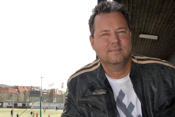 KGFC:s tränare sedan hösten 2013, har nu förlängt kontraktet med klubben. Foto: TORE LUND