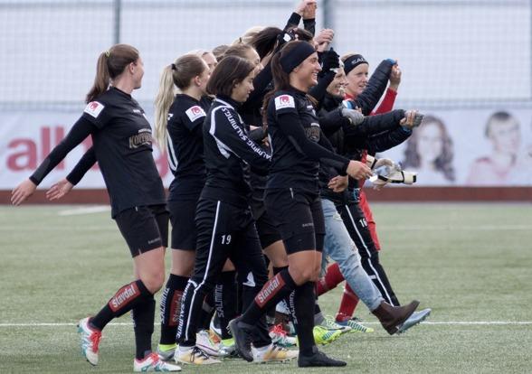 Mot framtiden med Kopparbergs/Göteborg FC. Foto: PER MONTINI