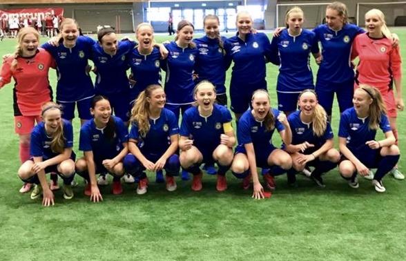 Grattis, tjejer! Semifinal i Cup Kommunal är en härlig framgång!