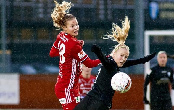 På lördag är det dags för Adelina Engman och de andra spelarna att ta sig an Hjörring i årets första match på Valhalla IP. Foto. PER MONTINI
