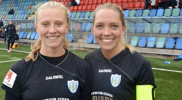 Klar seger mot Mallbacken, två mål av Rebecka Blomqvist, fint formbesked av Elin Rubensson inför landslagssamlingen i veckan. Foto: TORE LUND