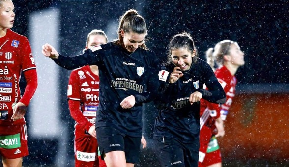 Annahita Zamanian och Pauline Hammarlund firade i fjol. Nu hoppas vi att de gör detsamma i år!