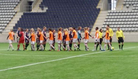 I söndagens match mot Linköpings FC lyckades KGFC F19 vinna med 4-3 . Foto: CLADUIO ASSUNCAO