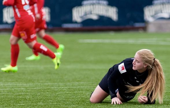 Savannah Levin har gjort ett stark intryck och inlett säsongen mycket fint i sitt nya lag. Foto: PER MONTINI