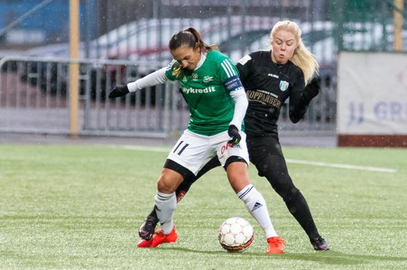 Efter förra veckans förkylning är Maja Göthberg nu tillbaka i truppen. Foto: PER MONTINI