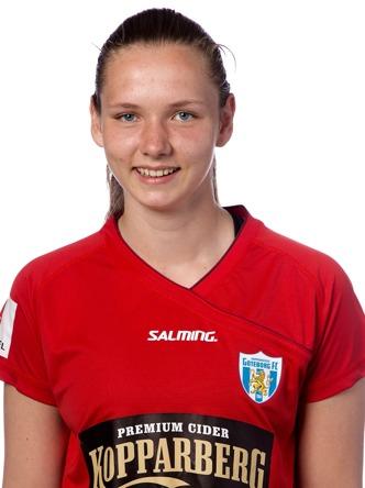 Talangen Anna Lrsson gjorde allsvensknsk debut.