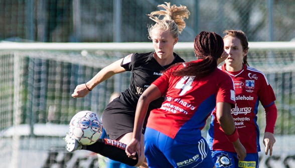 Rebecka Blomqvist är redo och revanschsugen inför höstsäsongen. Redan i morgon är det dags för träningsmatch. Foto: PER MONTINI