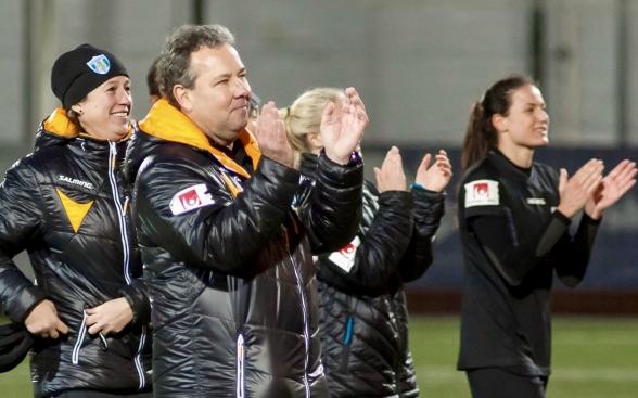 Stefan Rehn slutar som tränare i KGFC efter säsongen. Foto. PER MONTINI