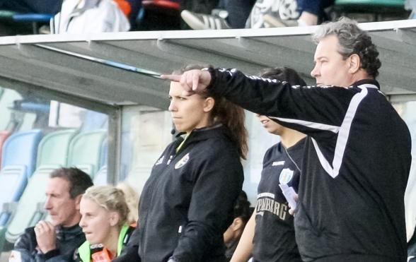 Stefan Rehn gör på söndagen sin sista match som tränare för KGFC. Men han tror på en ljus framtid för klubben. Foto.: PER MONTII