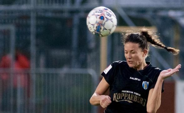 Beata Kollmats ser fram mot säsongen 2018 och tycker att förberedelserna inför året varit mycket bra. Foto: PER MONTINI