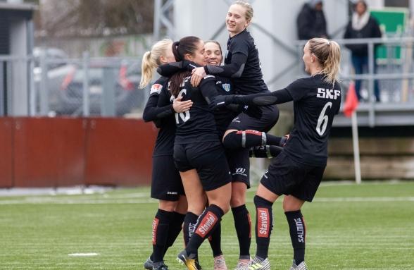 På söndag väntar årets hittills tuffaste utmaning – mästarna Linköping i ett direkt avgörande i Svenska Cupen. Foto: PER MONTINI