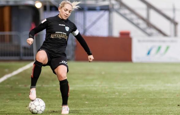 Elin Rubensson är laddad och redo inför måndagens premiär på bortaplan mot FC Rosengård.. Foto: PER MONTINI