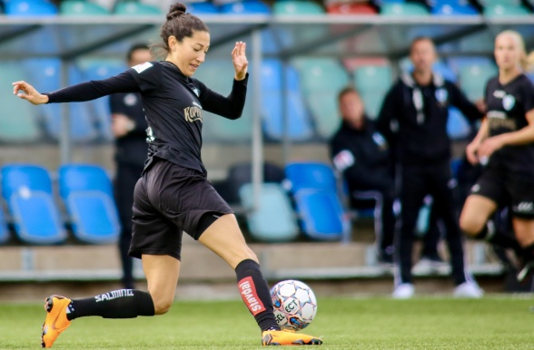 Bäst i allsvenskan under april, Christen Press.  Foto: PER MONTINI