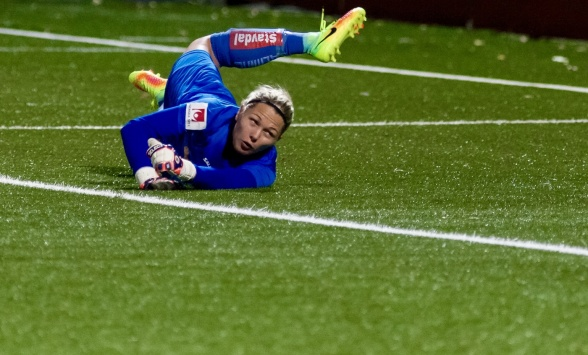 Jennifer Falk – tillbaka i landslaget! Foto: PER MONTINI