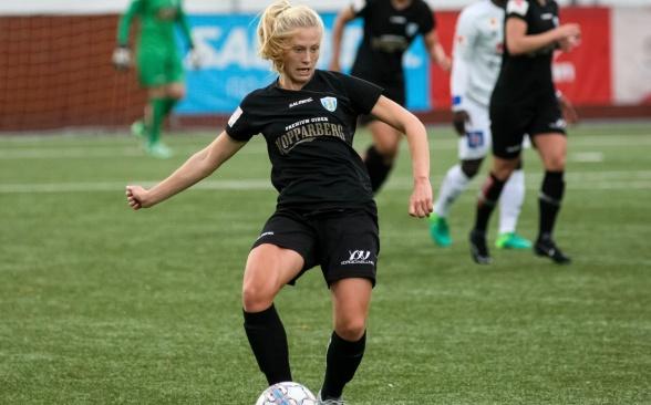 Rebecka Blomqvist har visat fin form i både match och på träning under hela 2018. Foto: PER MONTINI