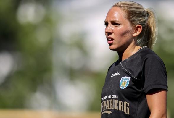 Segern mot Eskilstuna på söndagen håller Elin Rubensson som en av de bästa KGFC spelat sedan hon kom till klubben. Foto: PER MONTINI