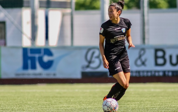 Christen Press lämnar KGFC. Foto: PER MONTINI