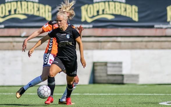Adelina Engman lämnar KGFC, som är överens om en övergång med brittiska storklubben Chelsea. Foto: PER MONTINI