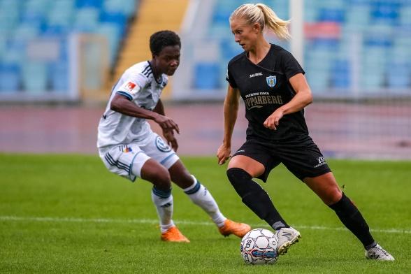 Rebecka Blomqvist – stannar i KGFC över säsongen 2020. Foto: PER MONTINI