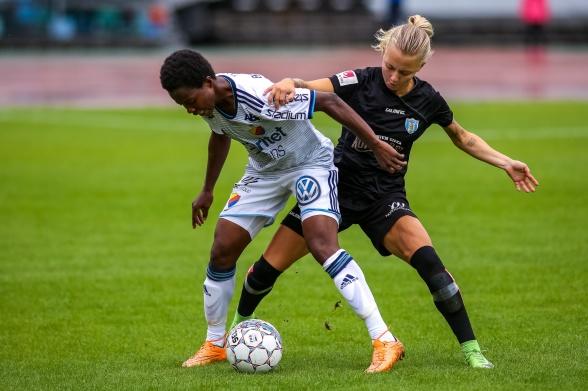 Nathalie Hoff Persson lämnar KGFC och flyttar nu till Sporting Lissabon. Foto: PER MONTINI