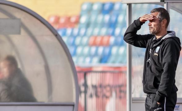 Marcus Lantz funder på sitt första år som tränare i KGFC – och blickar fram emot nästa. Foto: PER MONTINI