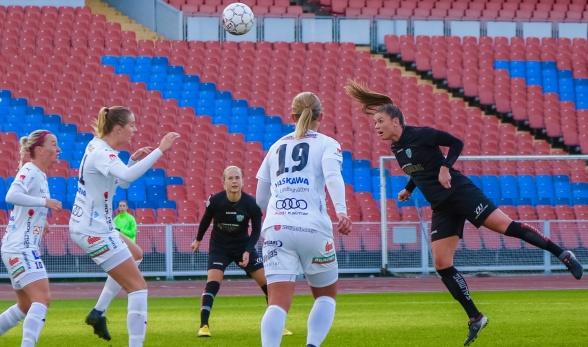 Pauline Hammarlund är back in business! Foto: PER MONTINI