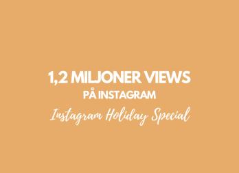 1,2 miljoner views på Instagram