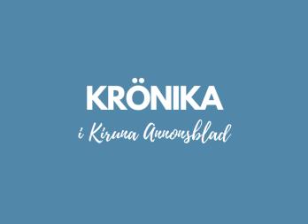 Krönika i Kiruna annonsblad