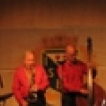 Nizzan Jazzband underhöll med skön musik under kvällen