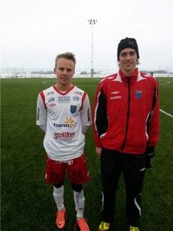 Thomasson och Ola Lindh, foto Jan Tagestam