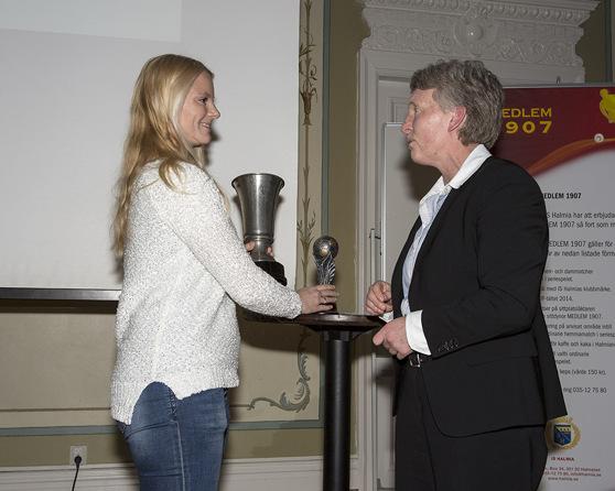 Jessica Jingblad kammade hem två priser. Foto: Digitalfoto Roger Bengtsson