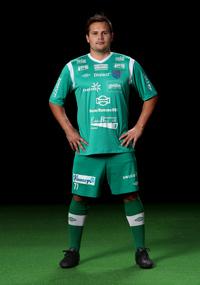 Jonas Käck, en av seriens absolut vassaste målvakter. Missade premiären men är nu redo för hetluften igen.