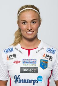 Lagkapten Antonia Andersson missar morgondagens möte med Hammarby. Skada från förra matchen sätter stopp.
