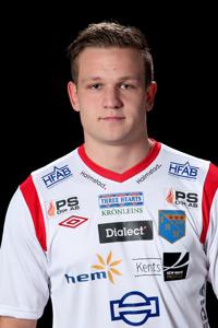 Målskytt och matchvinnare, Kristoffer Frantzich börjar växa in i kostymen mer och mer.