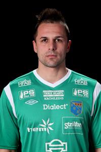 """Vladimir """"Luka"""" Lukic vaktar kassen igen efter Jonas Käcks utvisning senast."""