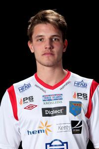 Andreas Wrele fanns med i startelvan idag och gjorde det så viktiga ledningsmålet till 1-0.