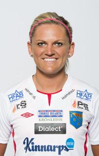 Lina Albinsson lämnar efter att ha fått jobb i Malmö.