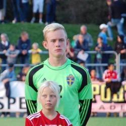 Malte Påhlsson vaktar målet idag när han bland annat möter jämnåriga landslagskompisen Sead Haksabanovic i HBK.