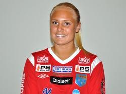Emma Harrysson hade lekstuga mot Genevad/Veinge, 2 mål och 4 assist blev kvällens facit.