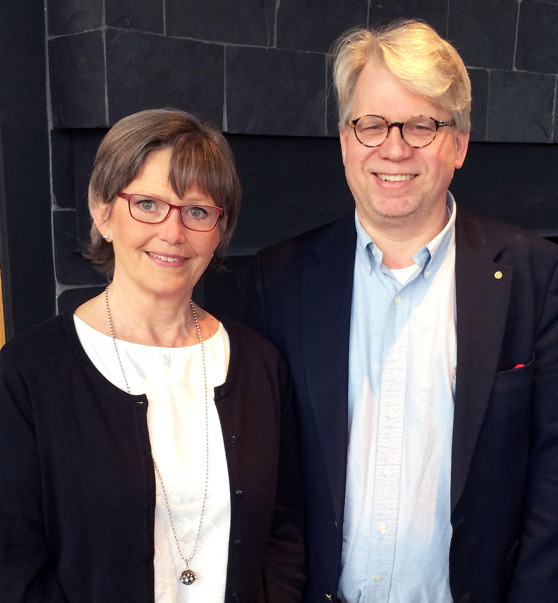 Katarina Hultling och Anders Ekblom. Foto; Distance, Magnus Backe