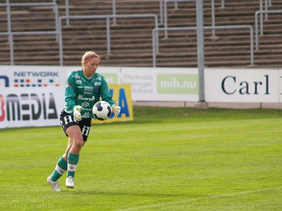 Anna Eckert tillbaka i Halmia. Foto Guy Palm