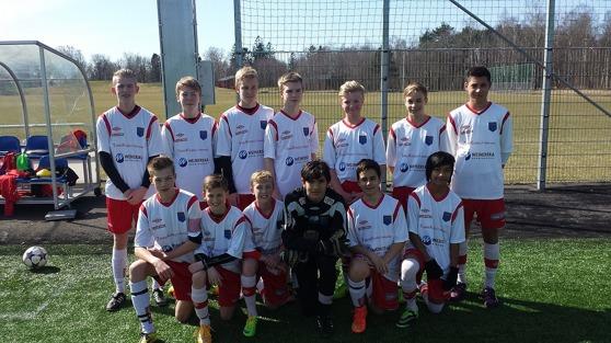 IS Halmia U14, ett av två Halmialag i årets Cup Denmark.