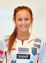 Matilda Olsson tillbaka efter sjukdom och spelade full match i finalen.