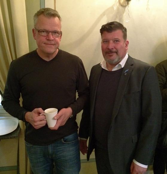 Janne Andersson och Dag Falkström. Foto: Magnus Backe - Distance