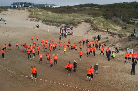 Översiktsbild inför starten av Cross Challenge 2015. Foto Christoffer Andréasson