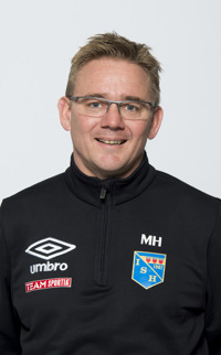 Mattias Hed, ny huvudtränare.