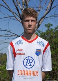 Oskar Gustafsson, en av våra uppflyttade juniorer.