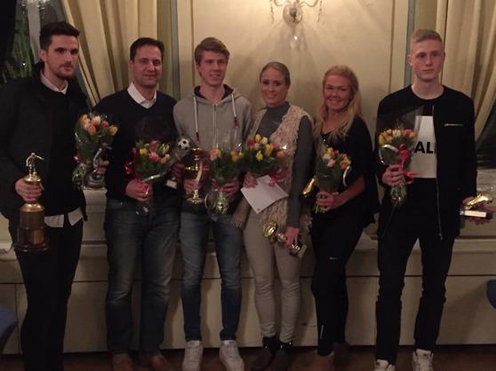 Från vänster: Egzon Maholli, Perra Andersson, Oskar Gustafsson, Frida Jingblad, Matilde Abrahamsson, Alexander Hall-Ling.